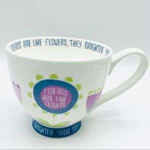 Portobello Inspire Friends Are Like Flowers Mug